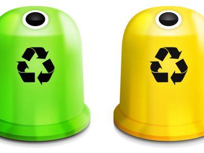 kontenery na odpady do recyklingu - Kraków