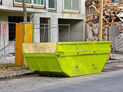 Kontener na śmieci - Kraków