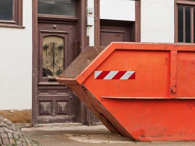 Kontener do wywozu odpadów poremontowych - Kraków