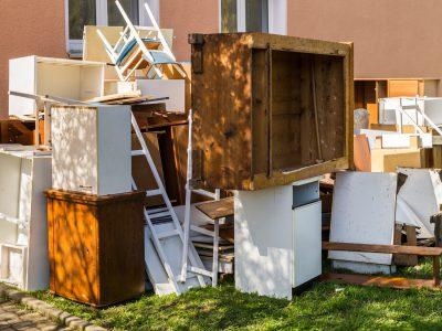 Odpady wielkogabarytowe przeznaczone do wywozu w Krakowie