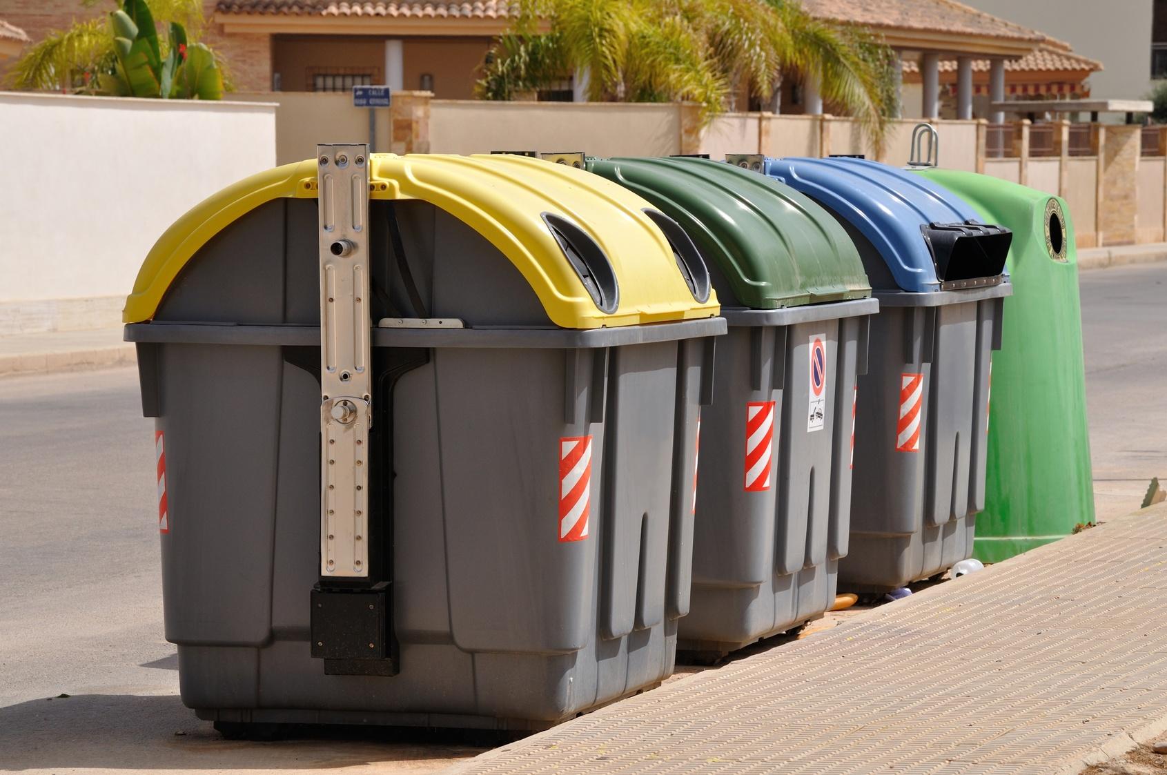 gospodarka odpadami w Krakowie - kontenery na odpady