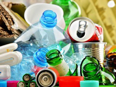 podział i recykling surowców wtórnych